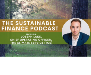 Joseph Lake on The Sustainable Finance Podcast
